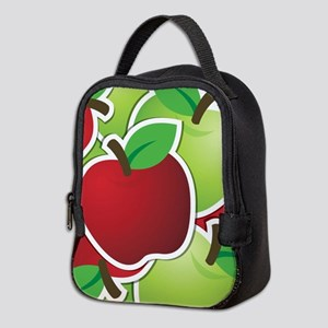 Funky mixed apples Neoprene Lunch Bag